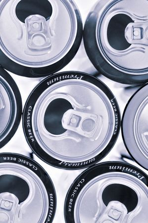 jarra de cerveza: aluminio diferente utilizado jarra de cerveza