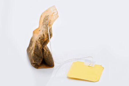 single use teabag close up photo