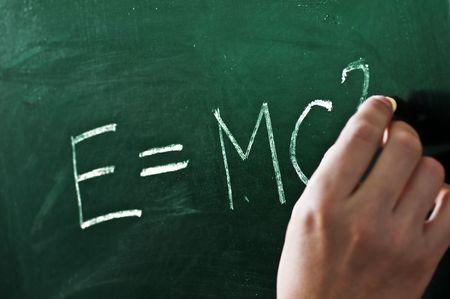 mathematical formula on blackboard closeup Stock Photo - 5651099
