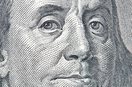 benjamin franklin portrait close up Stock Photo - 5651065