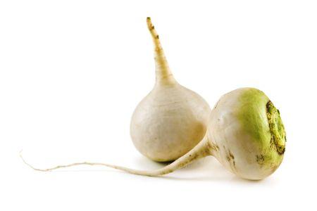 rutabaga: turnip isolated on white background Stock Photo