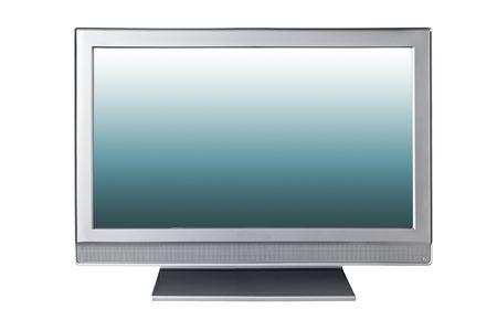 liquid-crystal tv isolated on white  Stock Photo - 5740139