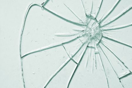 break glass background close up photo