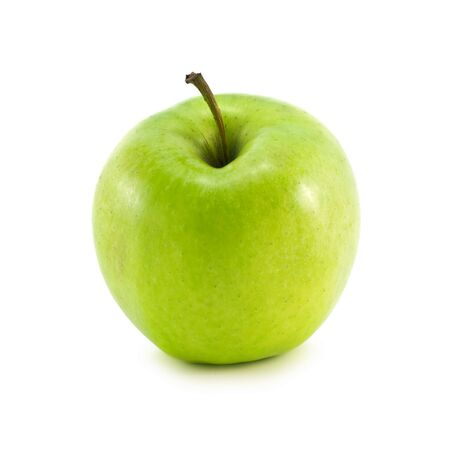 apple isolated on the white photo