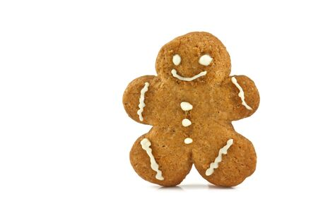 gingerbreadman: gingerbread isolated on white background