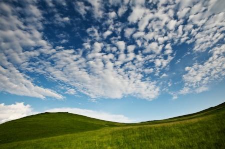 Montagne des Carpates à l'heure d'été Banque d'images - 15082811
