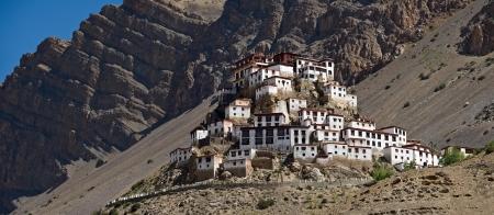 ki: Ki monastery in himalayas mountain