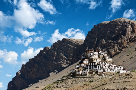 Kee monastery in himalayas mountain Stock Photo - 16273060