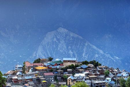 himalaya: Kalpa village in himalaya mountain