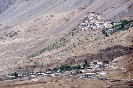 ki: Kee monastery in himalayas mountain