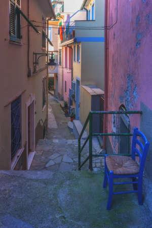 italy street: italy street on morning time
