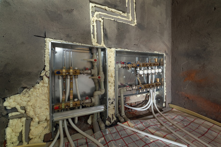 conduction: system of heating close up
