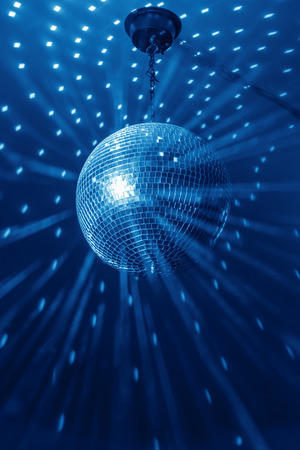 disco ball background close up Stockfoto