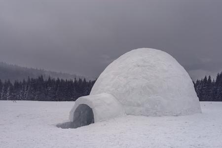 igloo: igloo in the high mountain