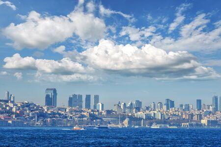 Ansicht von Istambul Stadt, die Türkei