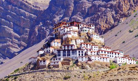 himalayas: Kee monastery in himalayas mountain