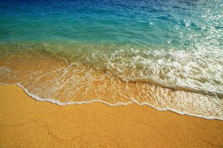 schöne Mittelmeer Seascape Nahaufnahme