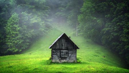 frightful: alone cabin in the woods