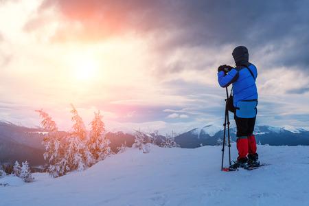 snovy Berg im Winter photo