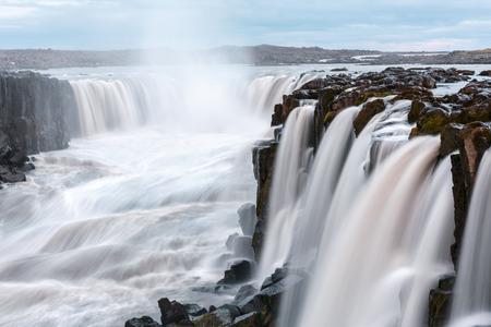 Berühmter Selfoss Wasserfall, Jokulsargljufur Nationalpark, Island.