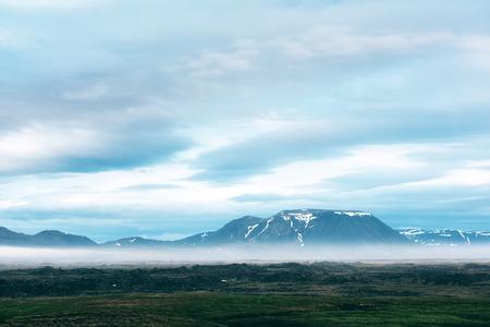 Typische Island Landschaft