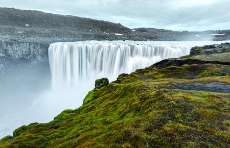 Most powerful waterfall Dettifoss Lizenzfreie Bilder