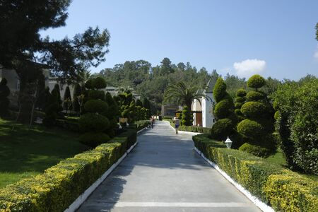 TEKIROVA Türkei - 5. Mai 2017: Das beliebte Resort Amara Dolce Vita Luxury Hotel. Typ - alles inklusive. Haben Sie Pool, Wasserpark und Erholungsgebiet entlang der Mittelmeerküste. Tekirova-Kemer