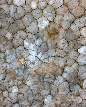 Cracked icelandic land texture. Beautiful background for your project