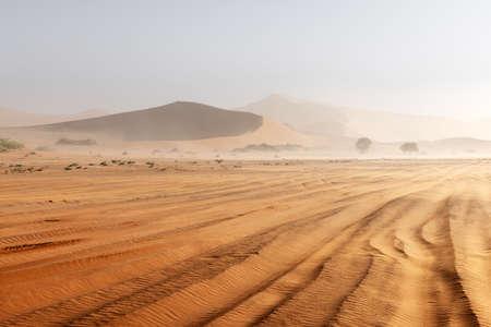 Sossusvlei in the Namib desert of Namibia Standard-Bild