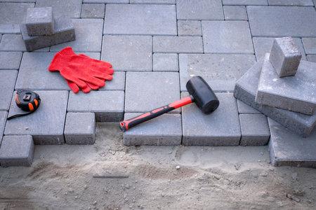 paving stones Standard-Bild