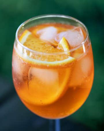 Aperitivo summer cocktail drink