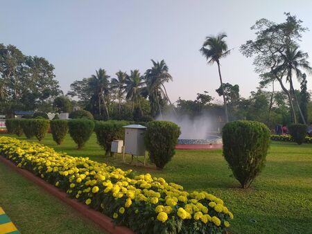 Indian public parks.