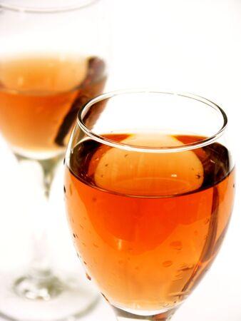 blush: isolated blush wine