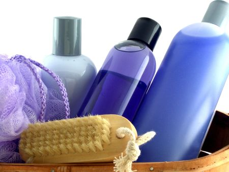 soft skin: isolated bath products