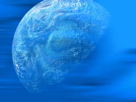 abstract background planet  Stock Photo