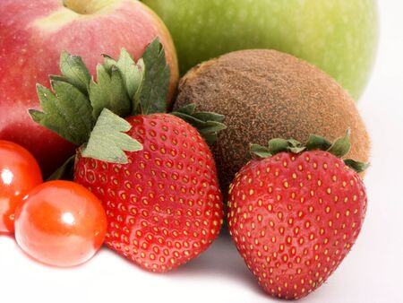 veg: close-up of fruit and veg,shallow dof