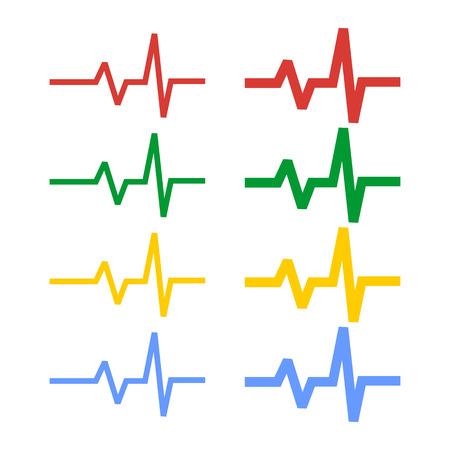 心電図-筋電図スペクトル 写真素材 - 48934003