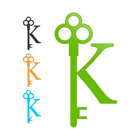 initial: Initial K Old Key
