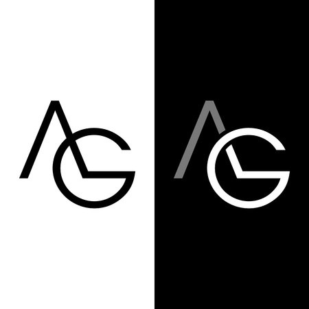 ag: Simple AG Initials