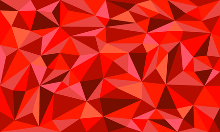 Red Ruby low poly art vector graphic background design illustration. Illustration