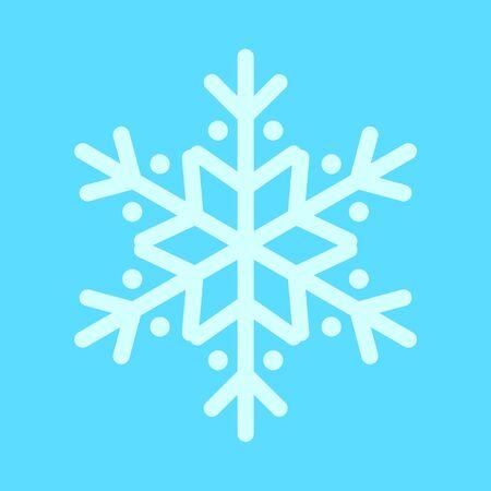 Snowflake Rounded Vector Graphic Illustration Sign Symbol Design Иллюстрация