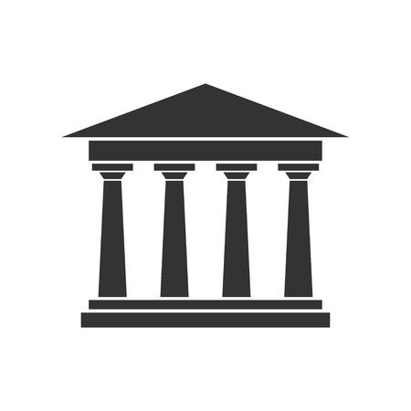 Academy Building Vector Symbol Graphic Logo Design