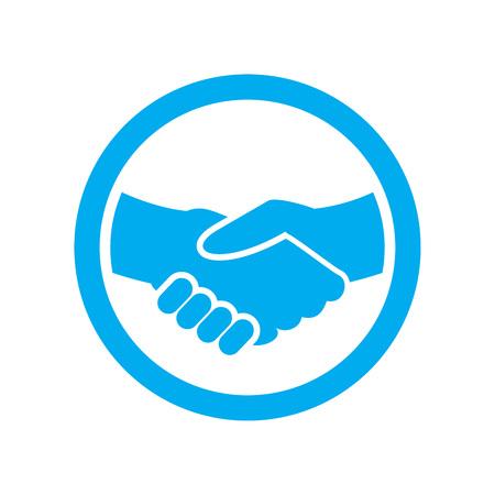 Grafico di simbolo di vettore di partenariato di lavoro Vettoriali