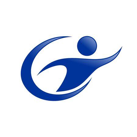 Letter G Initial Get Your Goal Symbol Design