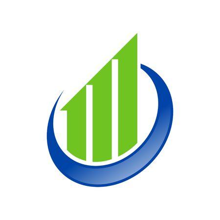 Global Economic Growth Symbol Design 写真素材 - 130662941