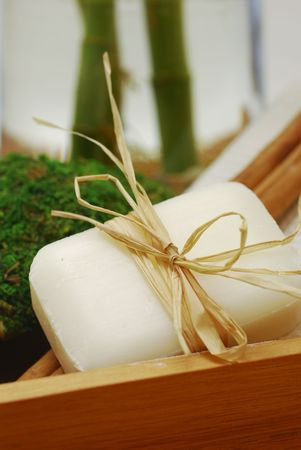 weakening: Accessories for wellness, spa or relaxing bath and Soap - accessory of weakening and improving procedures of pleasure therapys - Zen composition