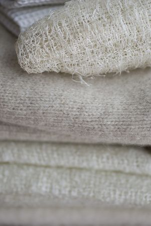 wool and natural fibres manufacture photo
