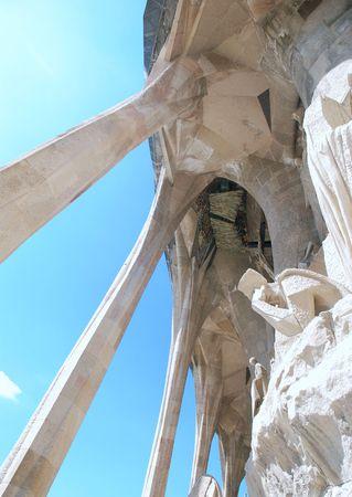 familiar: travel in spain Sagrada Familia Barcelona