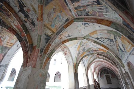 abbey: Ancient building - abbey to Novacella Bolzano, Trentino Alto Adige - Italy Stock Photo