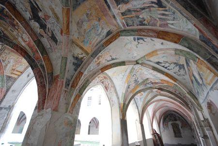 Antico edificio - Abbazia di Novacella Bolzano, Trentino Alto Adige - Italia  Archivio Fotografico - 3004710